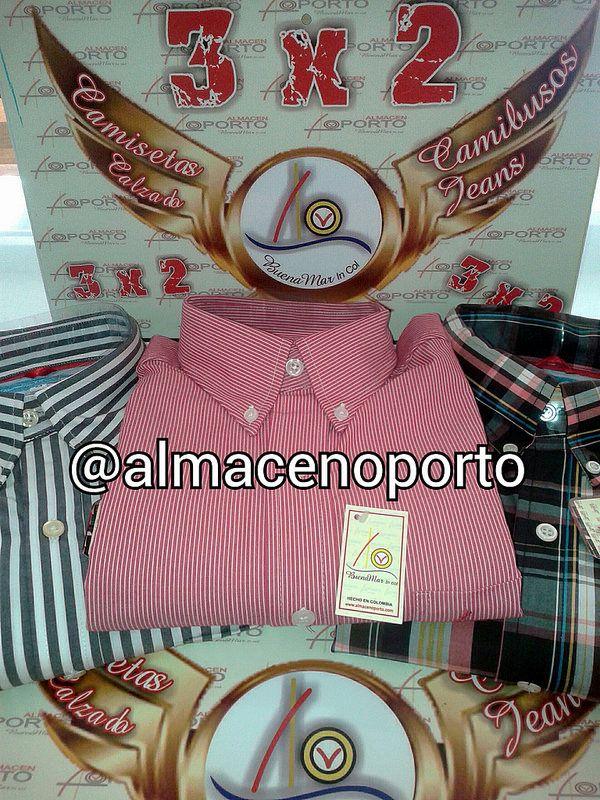 Sigue la nota #BuenaMarJeans Promociones #3X2 2+1 camisas #BuenaMar @almacenoporto