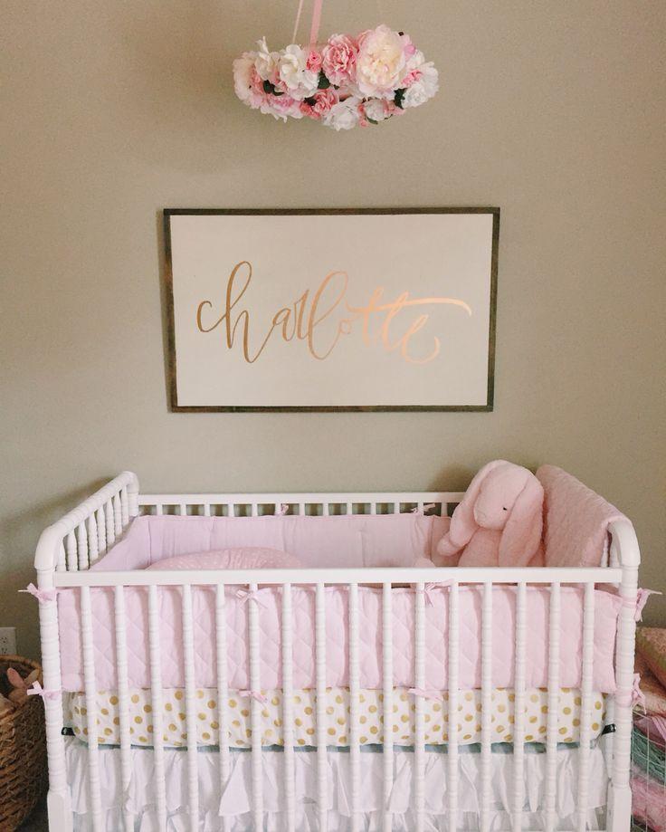 nursery • floral mobile • linens and lace shop