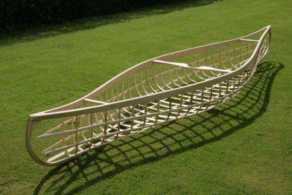 How to Build a Canvas Canoe, Jon's Bushcraft