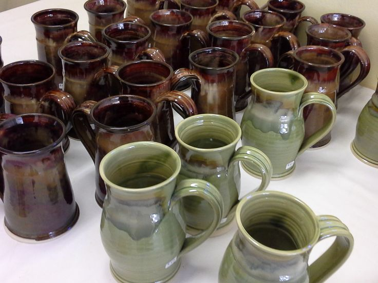 Many Mugs from Doing Earth Pottery
