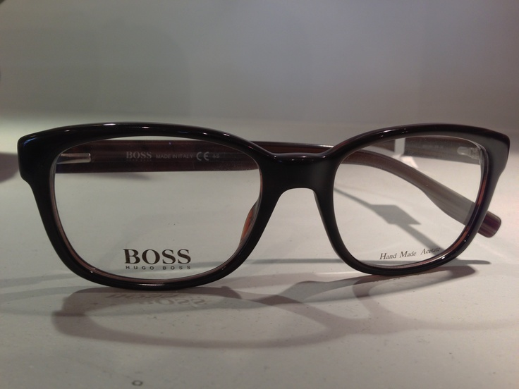 BOSS always has amazing eye wear frames. They just sent over these to our offices :-)