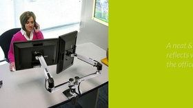 Make your workplace ergonomic & mobile by height adjustable metal table legs. Go ergonomic & reduce stress & strain.