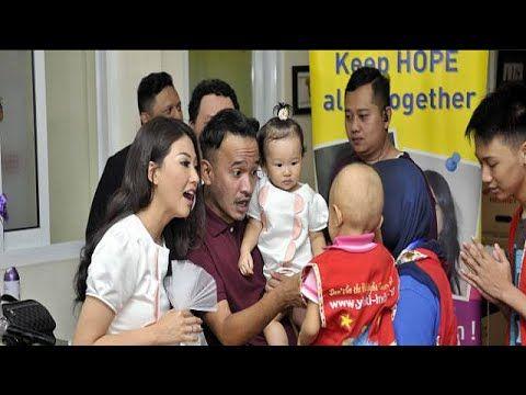 Sarwendah Rayakan Pesta Ulang Tahun ke-27 Bersama Anak-Anak Penderita Ka...