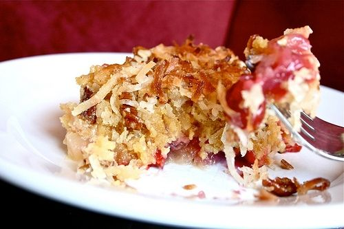 Cherry Crushed Pineapple Dump Cake
