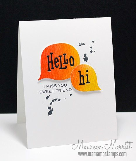 Mama Mo Stamps: WPlus9 February Release - Day Four