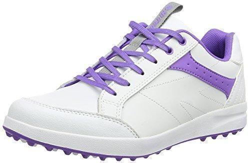 Oferta: 41.96€ Dto: -24%. Comprar Ofertas de Hi-Tec - Ht Combi Sneaker, Zapatos de Golf Mujer, Blanco (White/Purple 011), 38 EU barato. ¡Mira las ofertas!