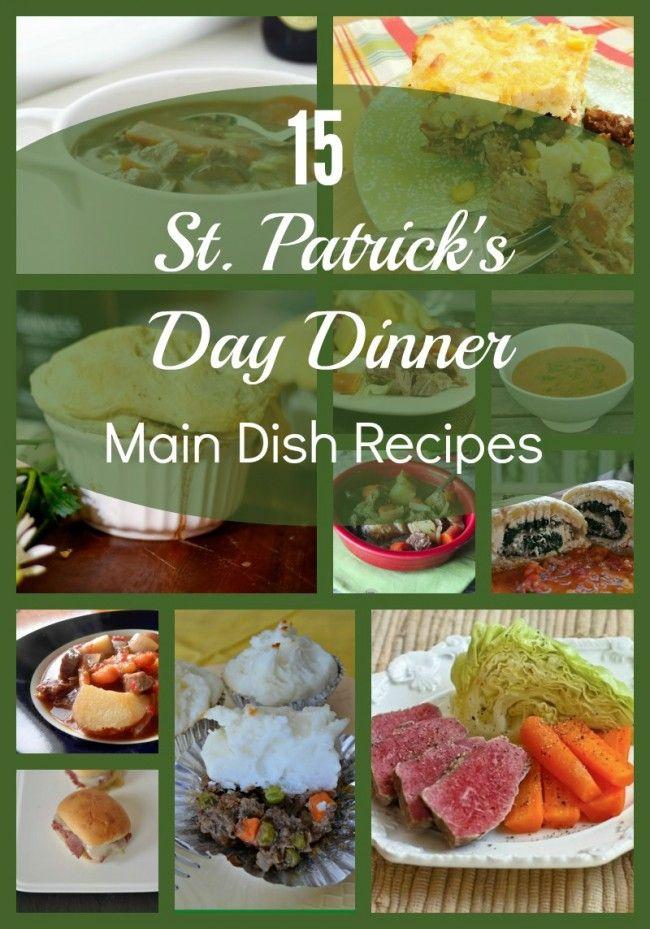 15 St. Patrick's Day Dinner Recipes