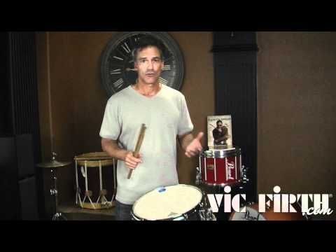 Vic Firth Rudiment Lessons: Single Stroke Roll - YouTube