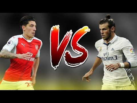 Gareth Bale vs Hector Bellerin - Who is The Fastest Player? - Amazing Speed Show - 2017 - YouTube