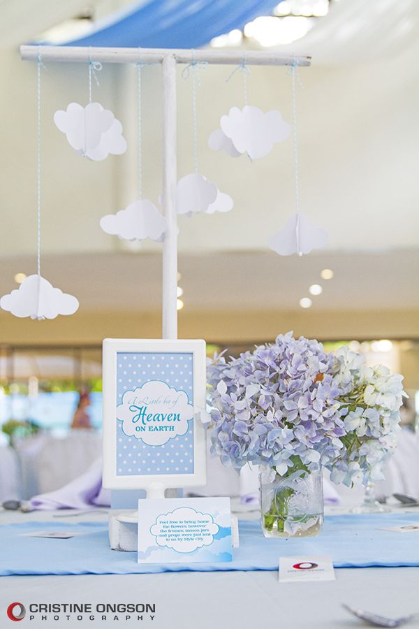 Heaven and Angel Themed Birthday Party - 25