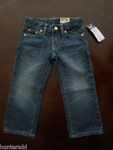 Ralph Lauren Polo Toddler Boys Slim Fit Denim Jeans Sz 2 2T New $40 4c | eBay