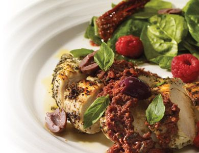 Provencal Grilled Chicken with Black Olive Tapenade - find it at homehardware.ca  #homehardware #food #chicken #tapenade #annaolson