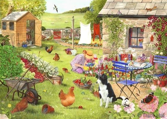 http://www.watercolour-artist.co.uk/farmanimalpaintings-grandmas-garden.html