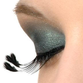 Emily Lashes: Extreme Spikey Flairs with Feather Tipped Accents $15 #Eyelashes