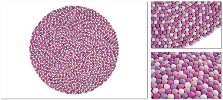 dywany Blobbi - Raspberry