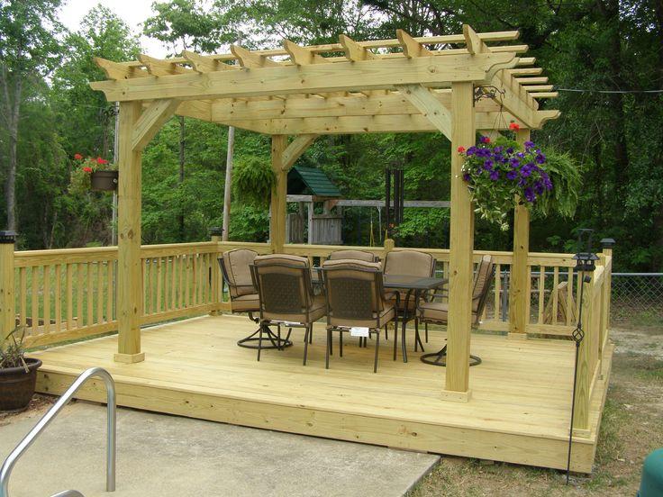 backyard pagoda Deck ideas Pinterest The ojays