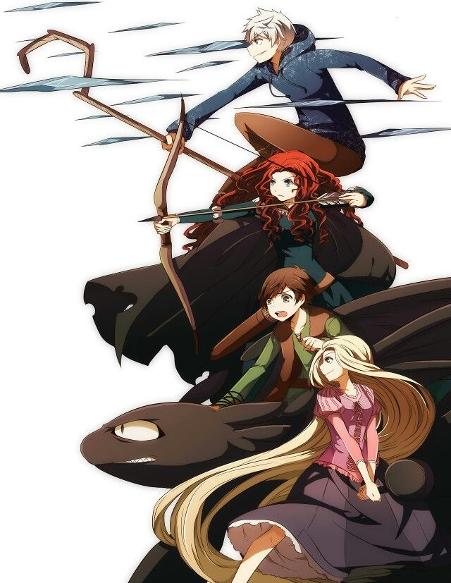 Big O Anime Characters : The big four as anime characters rise of brave