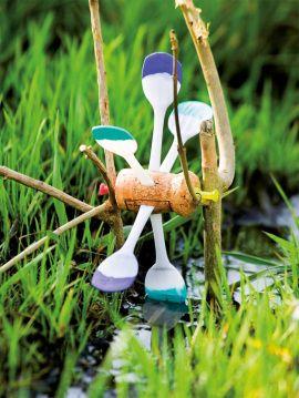 Sommerlicher Bastelspaß - Wasserrad aus Eislöffeln - Mit Kindern und für Kinder…