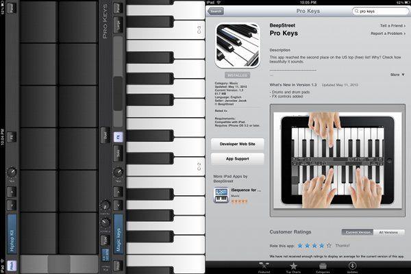 25 iPad music apps.