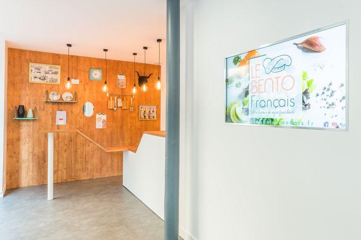 décoration d'intérieur et conception de l'aménagement du local professionnel par l'agence 360 degrés.  Livraison de produits crus à domicile ou au bureau