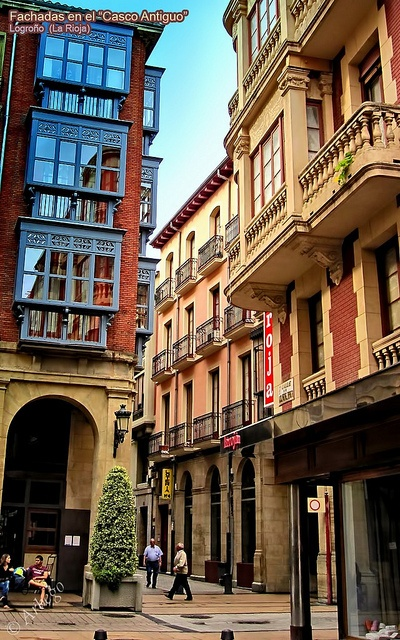 Logroño es un municipio de La Rioja y también la capital. Concentrando casi la mitad del total de la población, es su centro económico, cultural, y de servicios.