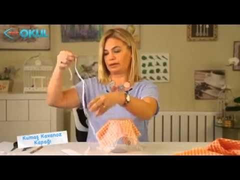 kumaş kavanoz kapağı - YouTube