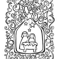 Free Nativity Printable: Good News of Great Joy, a Savior Christ the Lord