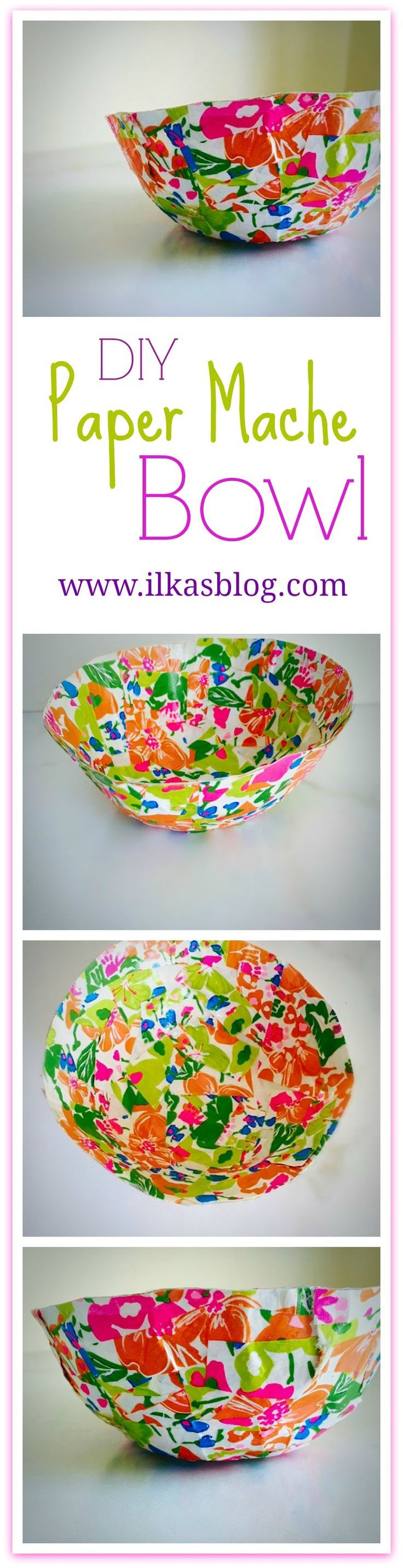 17 best images about paper mache crafts on pinterest for Diy paper bowl