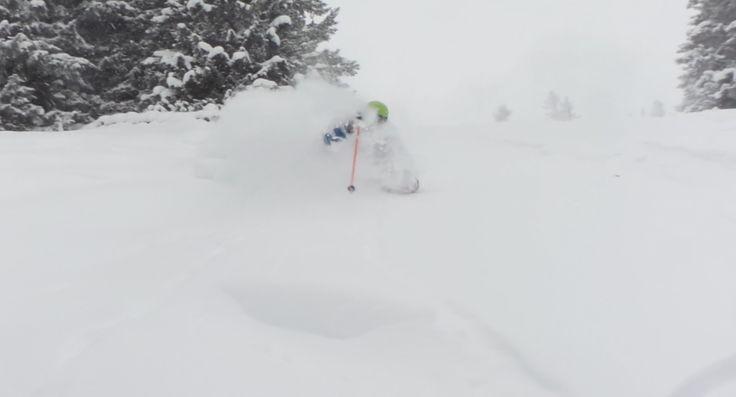 Plenty of powder snow for everyone in Lenzerheide.