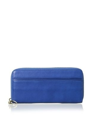 49% OFF Tusk Women's Single Zip Gusseted Clutch Wallet, Cobalt Blue