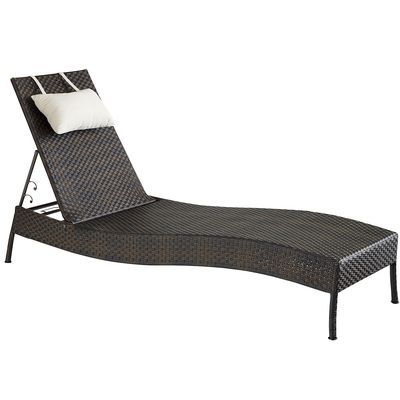 Ciudad chaise lounge mocha my favs from pier 1 pinterest 2 decks and rooftops - Pier one lounge chairs ...