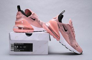 09b3a02c9ca4 Nike Air Max 270 Coral Stardust Black-Summit White AH6789 600 Women s  Casual Shoes