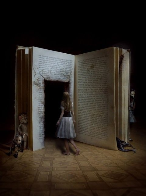 A good story opens up it's pages to you much like a doorway and leads you into a world of infinite possibilities and adventures ~SH