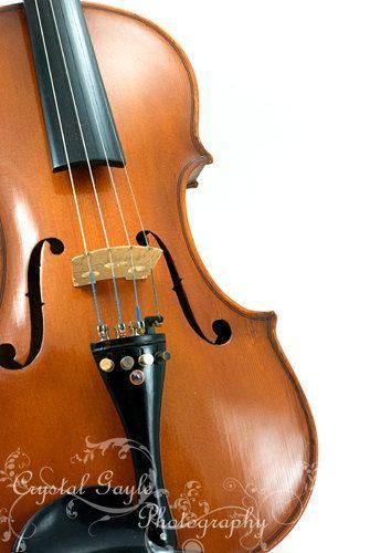 Violin Fiddle Fine Art Photography Musician Home Decor 16x20 Musical Man Cave Decor Print Unique Fathers