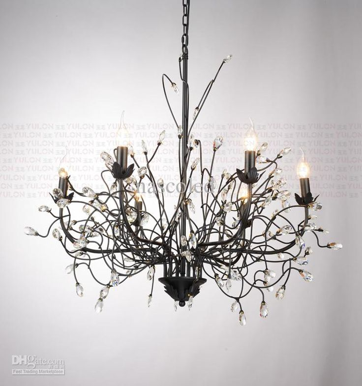 Best American Country Branches Chandelier Crystal Pendant