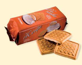 Do Kavy' vanilla cookies.