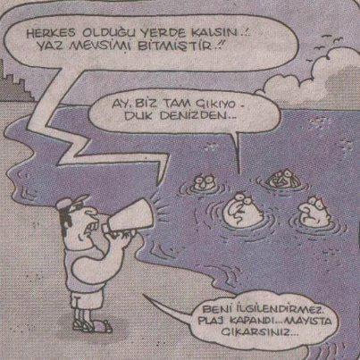 Bir Psikopat daha, olduğunuz yerde kalınmışmış... :) #Caricature #Karikatür
