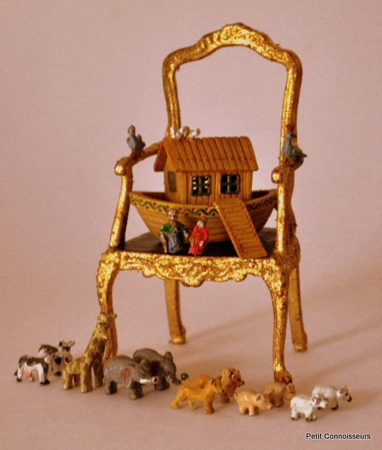 Estate Treasure: Hand Painted Noah's Ark