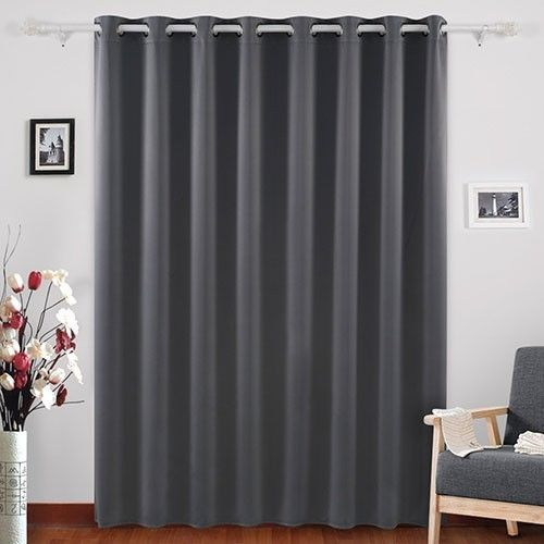 Living Room Curtains Bedroom Black Out High Quality Machine Washable Light Grey  #LivingRoomCurtains