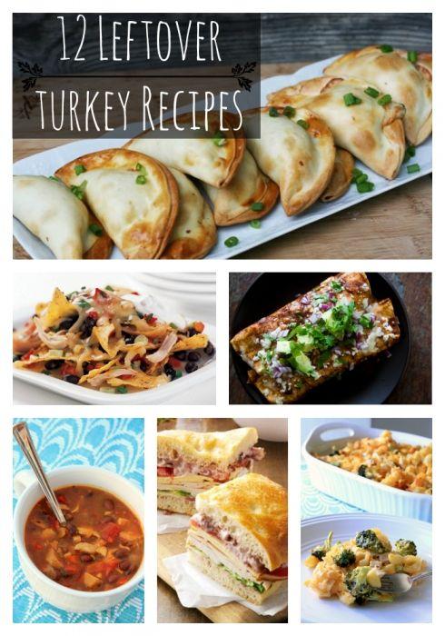 12 left over turkey recipes