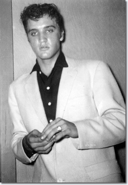 October 20, 1955. backstage at St. Michael's Hall - Cleveland Ohio