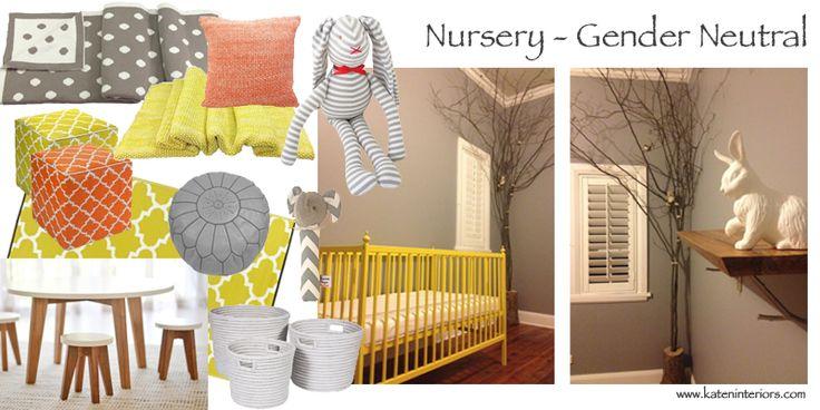 Moodboard Gender Neutral Nursery