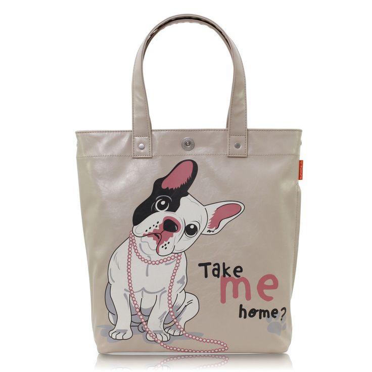 Damen Tasche Schultertasche Handtasche Shopper Beige Hund Kunstleder günstig  https://www.ebay.de/itm/Damen-Tasche-Schultertasche-Handtasche-Shopper-Beige-Hund-Kunstleder-guenstig-/152797079419?refid=store&ssPageName=STORE:accessorize24-de