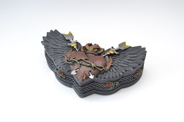 Dragon jewel box  Size: 16 cm