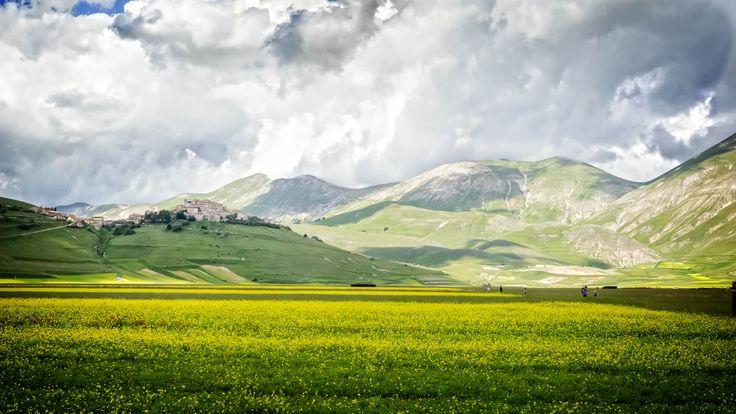 https://flic.kr/p/yNDYC5 | Upland in bloom | Upland in Castelluccio, near Norcia - Italy