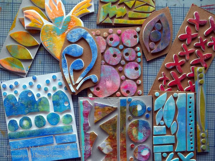 Lost Coast Post: Serendipithon Sundays: Handmade Foam Stamps - Michelle Remy