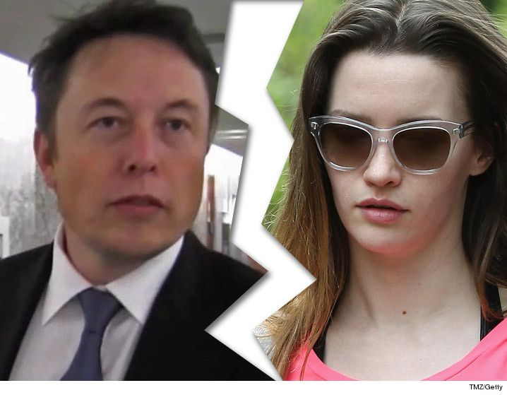 Elon Musk  Second Marriage Kaput  Wife Files For Second Divorce : Hombres