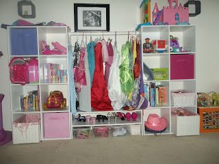Apple & Hubby & so much more: Crafting Dress Up Area for my daughter