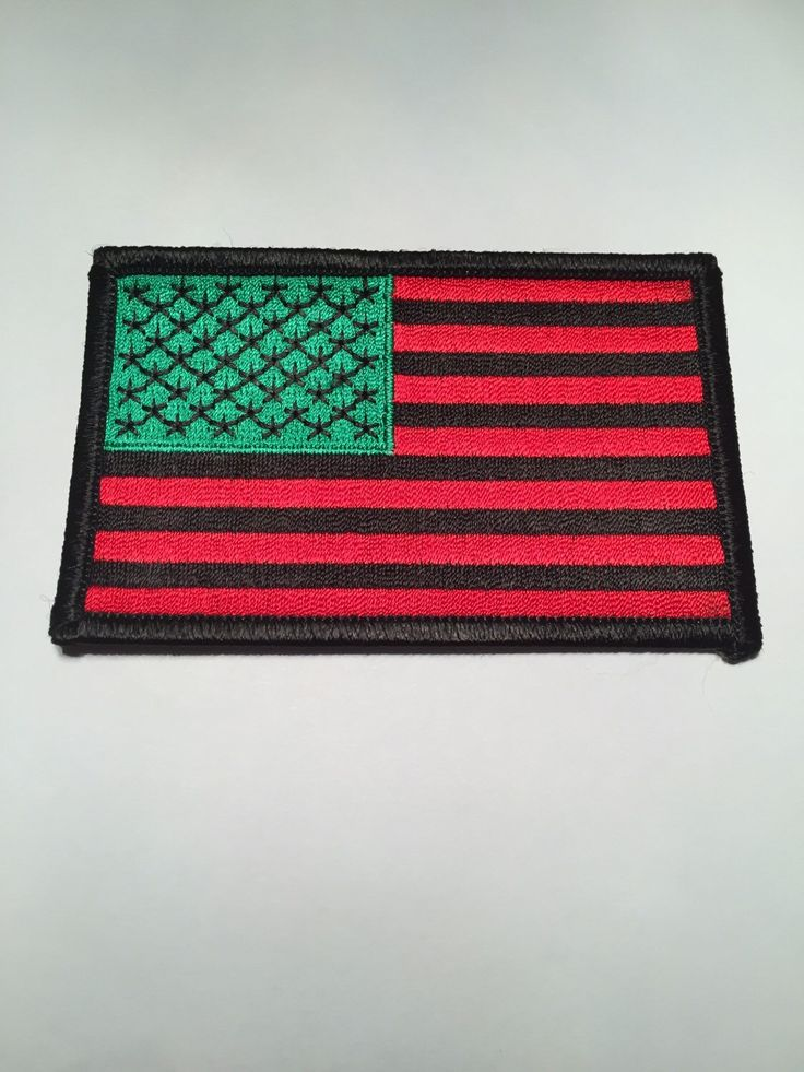 African American Flag Patch David Hammon by TresMercedes on Etsy https://www.etsy.com/listing/254319081/african-american-flag-patch-david-hammon