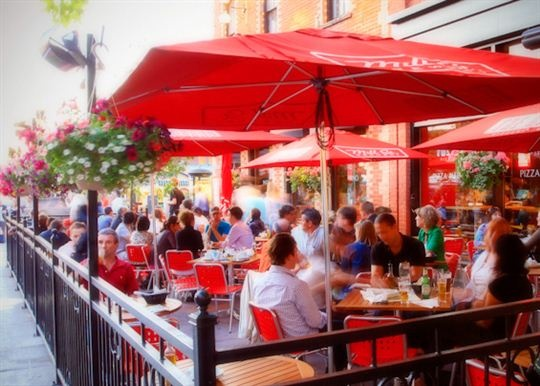 The Grand Pizzera And Bar Is Located In Downtown Ottawa At 74 George Street Italian